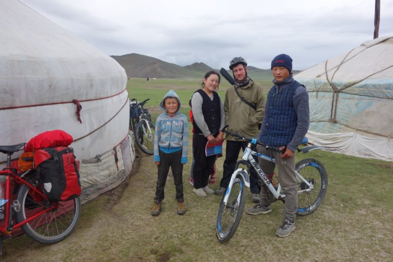 Tour Cycling in Mongolia- Unexpected Friendliness